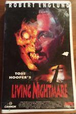 VHS Tobe Hooper´s Living Nightmare (Cannon) FSK 18 Horror mit Robert Englund