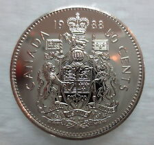 1988 CANADA 50 CENTS PROOF-LIKE COIN