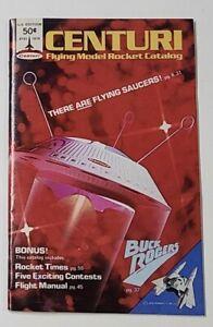 Centuri Model Rocket Catalog #791 1979 centuri Buck Rogers Book Magazine MINT