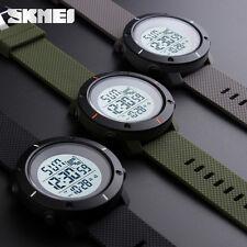 SKMEI Mens Digital Sport Watch Waterproof Military Date Alarm Countdown Timer AU