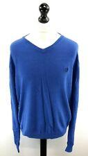 CHAPS RALPH LAUREN Mens Jumper Sweater XL Blue Cotton