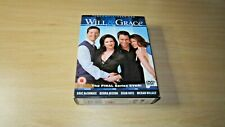 Will and Grace Season 8 (6 DVD Box Set) Excellent Condition