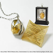 Harry Potter Locket From The Cave Horcrux Hidden Secret Note Noble Prop Replica