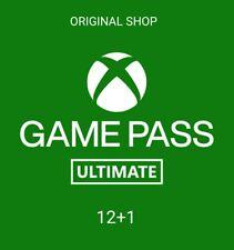 ✓ [ ORIGINAL SHOP ] XBOX GAME PASS ULTIMATE 12 MESI + 1 ( NO CODICE ) 1 ANNO