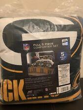 Green Bay Packers Nfl Full 5 Piece Comforter Bedding Team Logo Bed in Bag Set