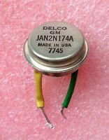 1 New Delco 2N174A Ge Mil PNP Transistor Corvettte Pontiac Chevrolet Radio 57 58