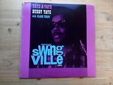 Buddy Tate with Clark Terry Tate A Tate VG Vinyl LP Record OJC 184 SV 2014