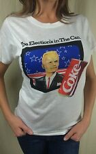 True Vintage 1988 Deadstock Max Headroom Coca Cola Coke White T-Shirt S Small