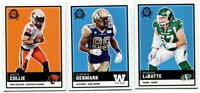 2015 OPC CFL Lot of 3 Cards Brendon LaBatte, Clarence Denmark, Austin Collie