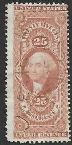 Mr B's US Used Washington Revenue Stamp Scott #R46c  ***FREE SHIPPING****