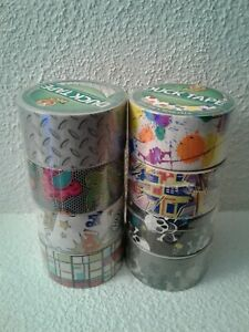 Duck Brand Printed Duct Tape Bundle