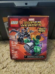 Brand New & Sealed 76066 LEGO Marvel Super Heroes Mighty Micros: Hulk vs. Ultron
