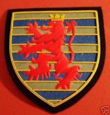 EU Belgium Luxembourg City Arms COA Heraldry Shield Lion Crest Blazer Patch Seal