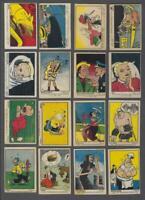 1951 Parkhurst Colour Comic Trading Cards Complete Set of 39