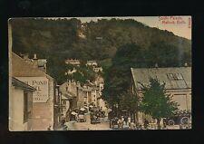 Derbyshire Derbys MATLOCK BATH South Parade used 1908 PPC