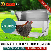 Mangiatoia A Pedale Per Polli / Galline 5kg - Chicken Treadle Feeder