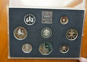 1983 8 coin Cased Royal Mint Proof set