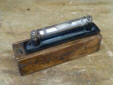 A Very Nice Vintage  Engineer's Level by J Rabone in Wooden Box - 6 in
