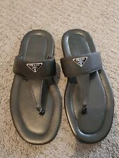 100%Authentic!Prada men's sandals size 9=US10 in excellent condition $450