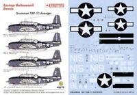 Techmod 1/48 Grumman TBF-1C Avenger # 48070