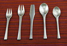 5 piece table setting Odin (Stainless) by Dansk [DASODI] FREE S/H