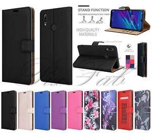 For Huawei Y6s Case, Slim Shockproof Leather Book Wallet Stand TOUGH Phone Cover