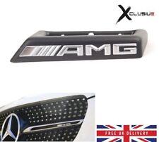 Mercedes AMG Front Grill Badge Emblem W176 W205 W212 W117A45 C63 E63 CLA 45 GLAA