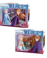 99 Piece Disney Frozen II Jigsaw Puzzles Choice of 2 Childrens Designs Anna Elsa