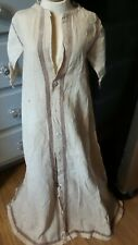 Antique! Primitive Christening Style Gown for Composition Bisque China Dolls