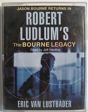 THE BOURNE LEGACY BY ROBERT LUDLUM  4 AUDIO CASSETTE BOOK