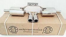 Porsche Boxster 986 y Boxster S 2.5L 2.7L 3.2L Escape Deportivo Acero inoxidable