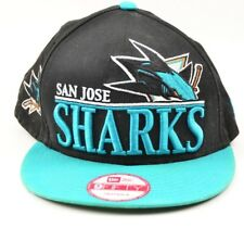 New Era 9fifty San Jose Sharks NHL Hockey Snapback Hat FREE SHIPPING