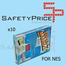10x Funda Caja protectora de Juegos Nintendo NES Protector Cover ref2033