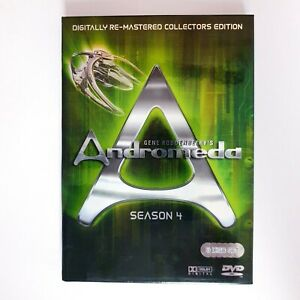 Gene Roddenberrys Andromeda Season 4 TV Series DVD Region 4 AUS - Action Scifi