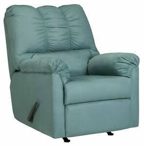 PICK-UP ONLY Darcy Rocker Recliner Sky Signature Design by Ashley NEW/UNBOXED