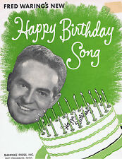 1950 - Fred Waring's New Birthday Song -Green Giant Ad!