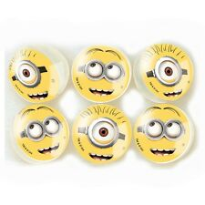 6 Despicable Me Minions Childrens Birthday Party Loot Favor Bounce Bouncy Balls
