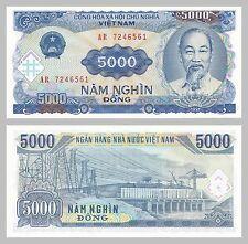 Vietnam 5000 dong 1991 p108a UNC.