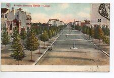 PORTUGAL - LISBONNE - lisboa - avenida ressano garcia