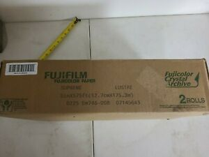 Fujifilm Fujicolor Supreme Lustre Crystal Archive 5in x 575ft Paper