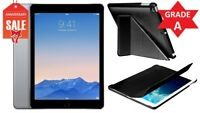 BUNDLE Apple iPad Air 1st Generation 16GB, WiFi, 9.7in Space Gray - Grade A (R)