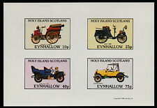 GB LOCALS-EYNHALLOW (1084) 1981 AUTO D'EPOCA Imperf SHEETLET Unmounted MINT