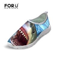 Cool Shark Women Breathable Smart Absorbing Sport Running Slip-on Shoes Athletic