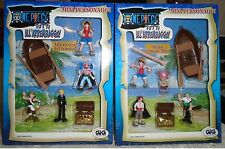 FIGURE MANGA ONE PIECE-RUBBER RUFY,CHOPPER,ZORO,SANJI,BUGGY,USOP gashapon GIG