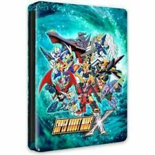 SUPER ROBOT WARS X STEELBOOK EDITION PS4 ASIA ENGLISH PAL & NTSC COMPATIBLE NEW