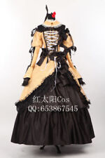 Vocaloid Kagamine Rin Daughter of Evil Halloween Dress Cosplay Costume
