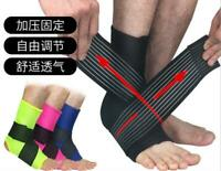 Sports Ankle Support Brace Sprain Strap Stabiliser Guard Pad Sock Foot Pain