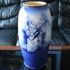 Porcelain/China Vase Blue Royal Doulton Porcelain & China
