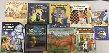 Troll Halloween Book Lot of 10 Early Learning Homeschool Level One HL2