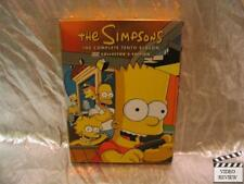 The Simpsons Complete Tenth Season DVD 4 Disc Set